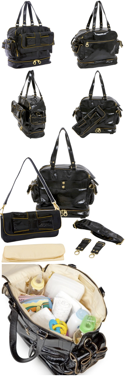 Queen Bee Diaper Bag by The Bumble Colletion